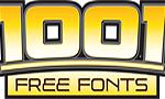 1001 Free Fonts Logo