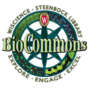 BioCommons in Steenbock Library Logo