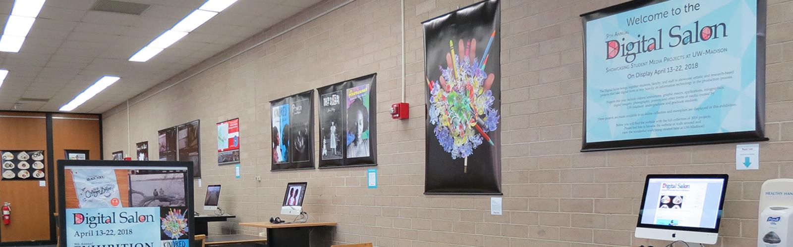 Digital Salon 2018 Exhibition in College Library