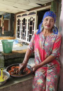 Faces of Rural Indonesian Workers 1 - a digital photograph by Carlie Renee Cervantes De Blois