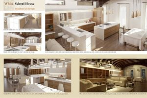 White School House 1 - a design plan by Kung-Wei Chen