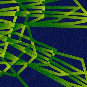 Gradient & Geometry 1 - a digital illustration by Yiting Liu