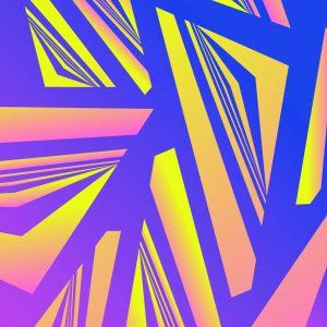 Gradient & Geometry 2 - a digital illustration by Yiting Liu