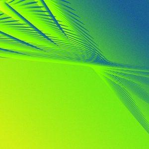 Gradient & Geometry 5 - a digital illustration by Yiting Liu