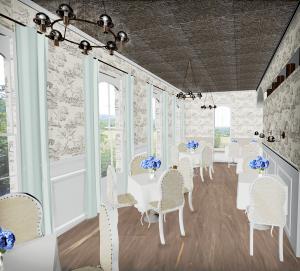 L'Ecole Bistro 2 - an interior design by Stephanie Coffaro