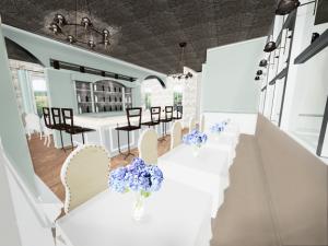 L'Ecole Bistro 4 - an interior design by Stephanie Coffaro