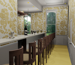 Lexington Avenue Bistro 2 - an interior design by Shannon Stuntebeck