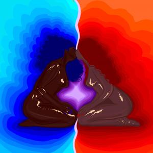 Pretty with Desire - a digital illustration by Isha Camara