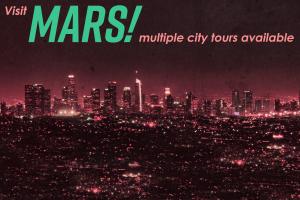 Mars - a digital postcard by Chris Rudolph