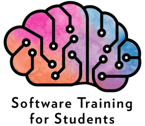 Software Training for Students Logo. Link will take you to their website.