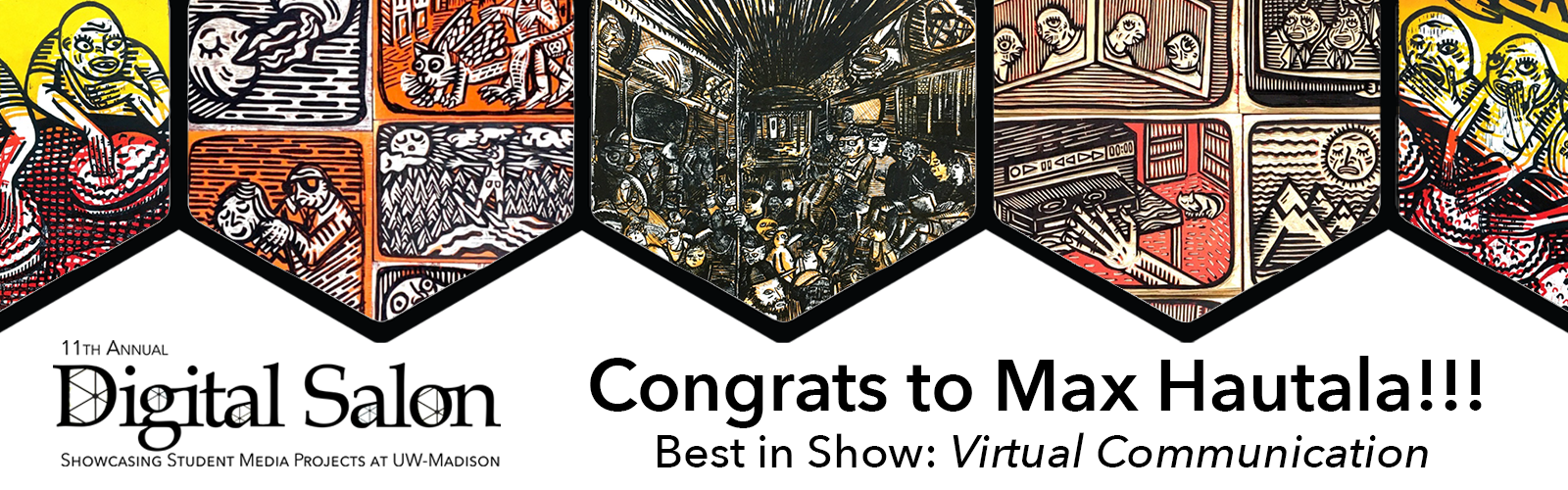 Congratulations to Max Hautala, Best in Show Award Winner for his project Virtual Communication