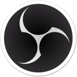 OBS Open Broadcaster Software Logo.
