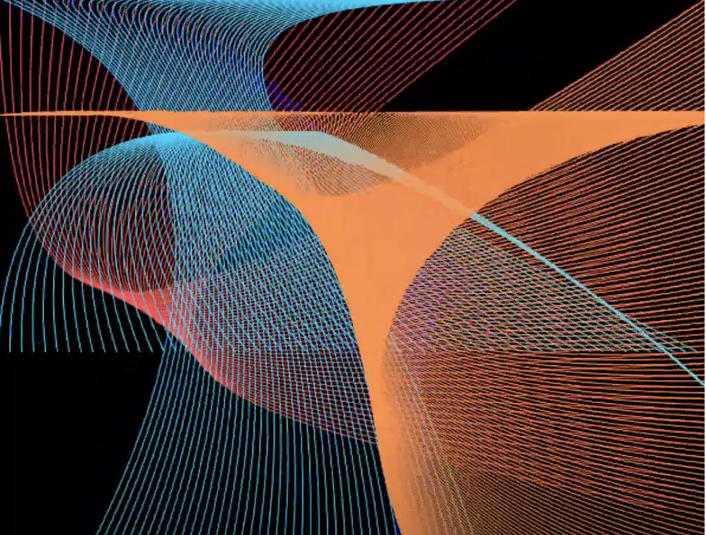 data visualization of music